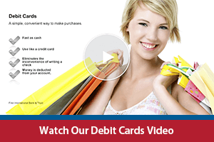 Watch our debit cards video
